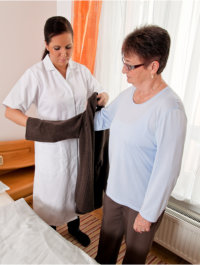 Primary Home Care, nurse providing aged care